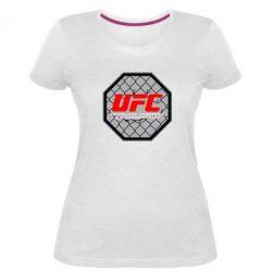 Женская стрейчевая футболка UFC Cage