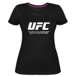 Женская стрейчевая футболка UFC