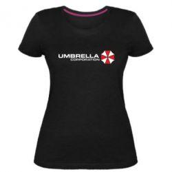 Жіноча стрейчева футболка Umbrella Corp - FatLine