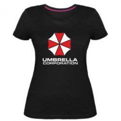 Женская стрейчевая футболка Umbrella
