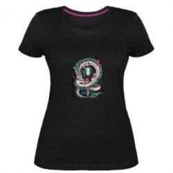 Жіноча стрейчева футболка Віднесені привидами