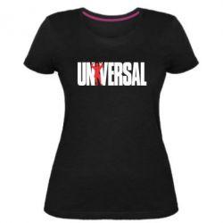 Жіноча стрейчева футболка Універсальний
