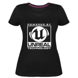 Женская стрейчевая футболка Unreal