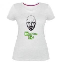 Женская стрейчевая футболка Уолтер Уайт (Во все тяжкие)