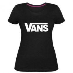 Жіноча стрейчева футболка Vans