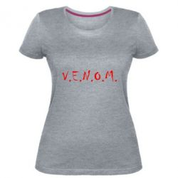 Жіноча стрейчева футболка Venom