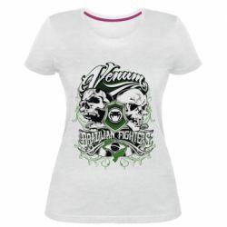 Женская стрейчевая футболка Venum Brazilian Fighters