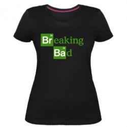 Женская стрейчевая футболка Во все тяжкие (Breaking Bad)