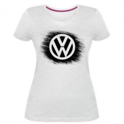 Жіноча стрейчева футболка Volkswagen art