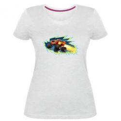 Жіноча стрейчева футболка Вспиш 2