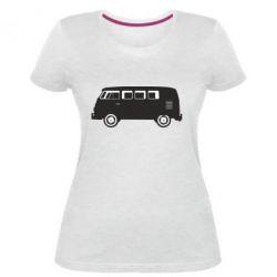 Женская стрейчевая футболка VV