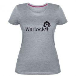 Жіноча стрейчева футболка Warlock