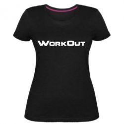 Жіноча стрейчева футболка Workout