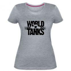 Жіноча стрейчева футболка WOT гусениці