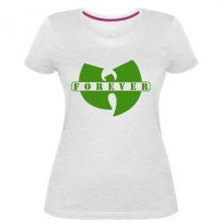 Женская стрейчевая футболка Wu-Tang forever