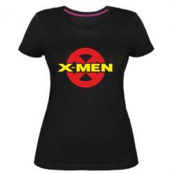 Женская стрейчевая футболка X-men