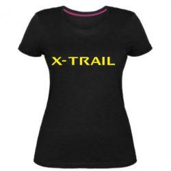 Женская стрейчевая футболка X-Trail