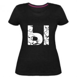Жіноча стрейчева футболка И
