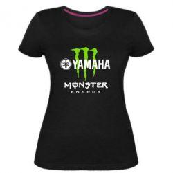 Жіноча стрейчева футболка Yamaha Monster Energy