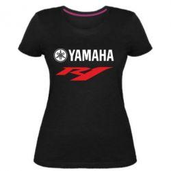 Женская стрейчевая футболка Yamaha R1