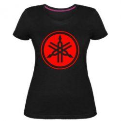Жіноча стрейчева футболка Yamaha