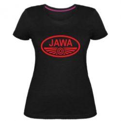 Жіноча стрейчева футболка Ява