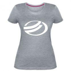 Женская стрейчевая футболка ZAZ