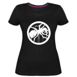 Женская стрейчевая футболка Жирный муравей