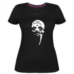 Женская стрейчевая футболка Зомби (Ходячие мертвецы) - FatLine