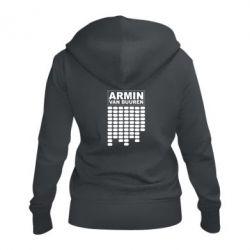 Женская толстовка на молнии Armin Van Buuren Trance