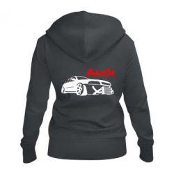 Жіноча толстовка на блискавці Audi Turbo