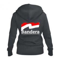 Женская толстовка на молнии Bandera - FatLine