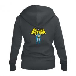 Женская толстовка на молнии Batman Hero