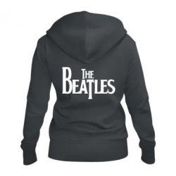 Женская толстовка на молнии Beatles - FatLine