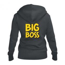 Женская толстовка на молнии Big Boss