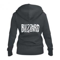 Жіноча толстовка на блискавці Blizzard Logo