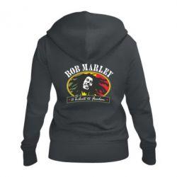 Жіноча толстовка на блискавці Bob Marley A Tribute To Freedom