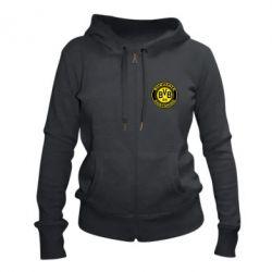 Жіноча толстовка на блискавці Borussia Dortmund