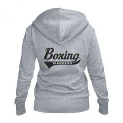 Жіноча толстовка на блискавці Boxing Warrior