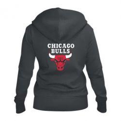 Женская толстовка на молнии Chicago Bulls Classic