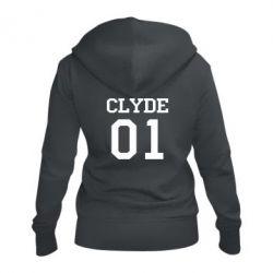 Женская толстовка на молнии Clyde 01