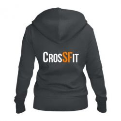 Жіноча толстовка на блискавці CrossFit SF