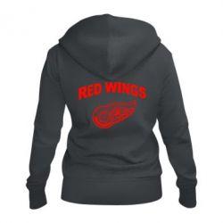 Женская толстовка на молнии Detroit Red Wings