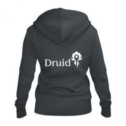 Женская толстовка на молнии Druid Orc