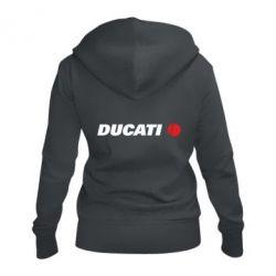 Жіноча толстовка на блискавці Ducati