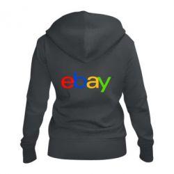 Жіноча толстовка на блискавці Ebay