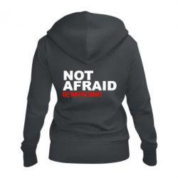 Жіноча толстовка на блискавці Eminem Not Afraid