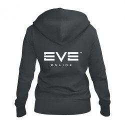 Женская толстовка на молнии EVE Online