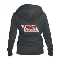 Женская толстовка на молнии Fallout New Vegas