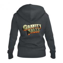 Женская толстовка на молнии Gravity Falls